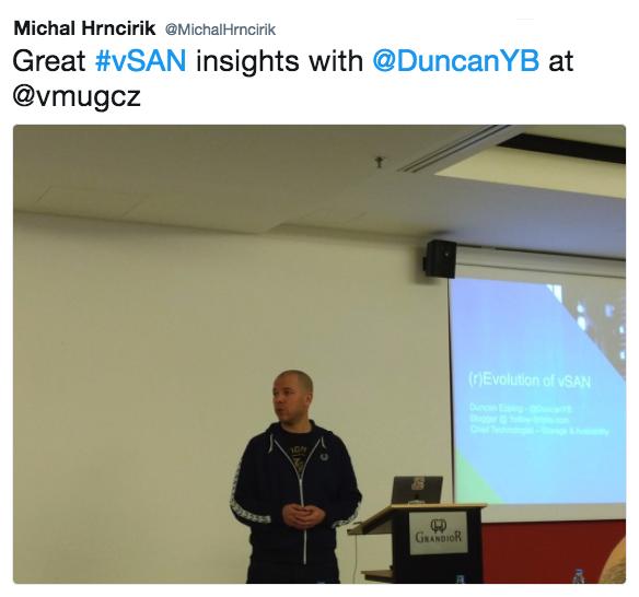Duncan Epping CZ VMUG
