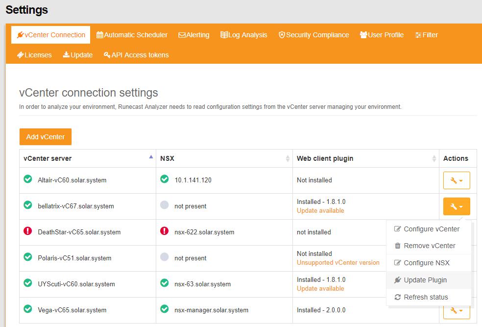 Screenshot How to update vSphere 6.7 HTML5 Plugin
