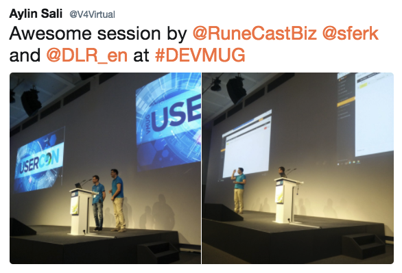Runecast Session with DLR