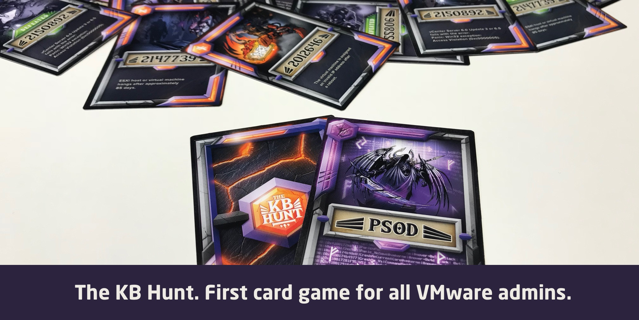 KB Hunt VMware admin card game